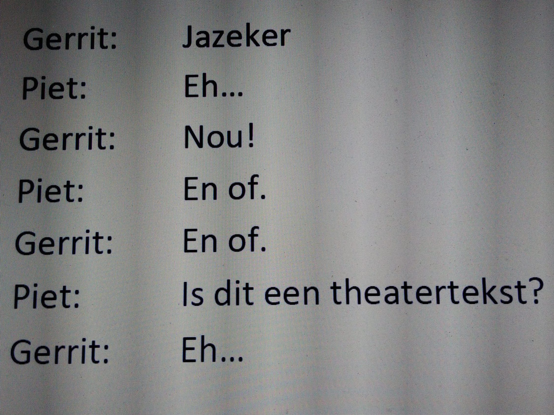 theatertekst script gedichten
